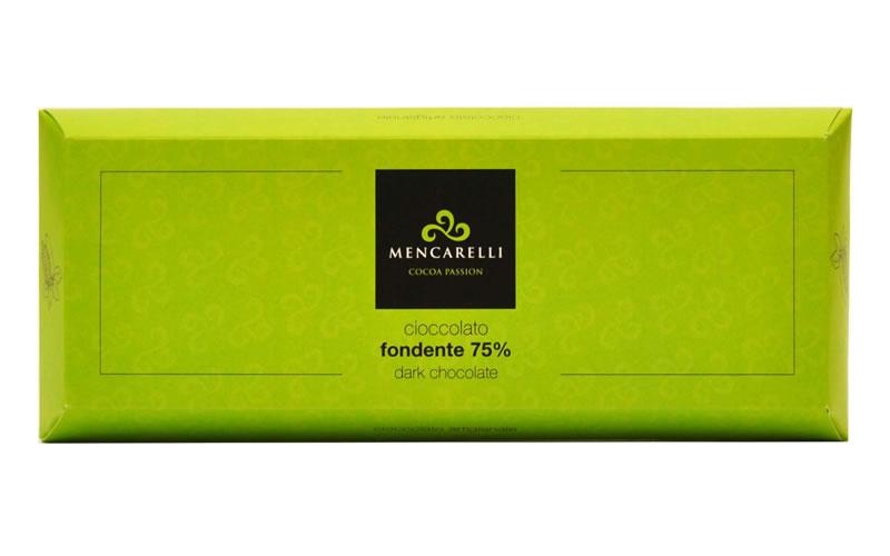 Blocco di Cioccolato 500g Fondente 75%
