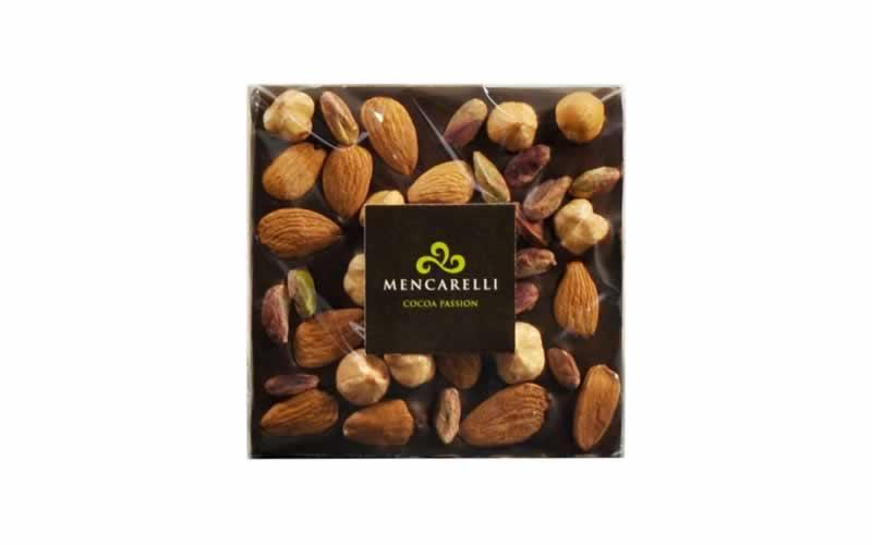 Cioccolato Fondente e Frutta Secca