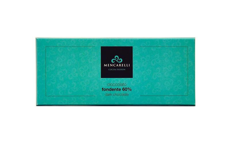 Tavoletta Cioccolato 180g Fondente 60%