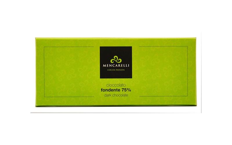 Tavoletta Cioccolato 180g Fondente 75%